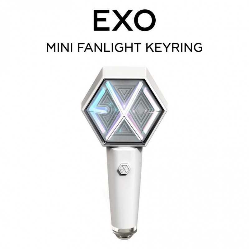 EXO - Mini Fanlight Keyring