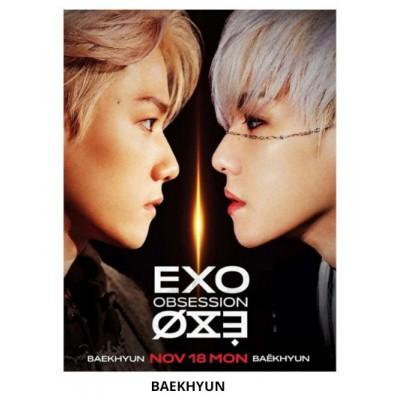 EXO - Wood Frame Photo (Obsession)