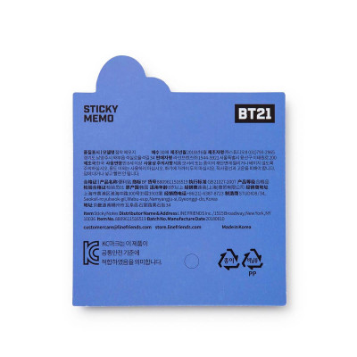 BT21 - Bite Sticky Memo