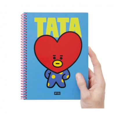 BT21 - Heart A5 Spring Note
