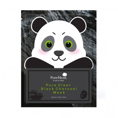 PUREHEAL'S Pore Clear Black Charcoal mask