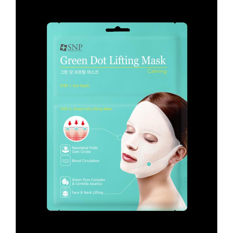 SNP Green Tension Calming Lifting Mask
