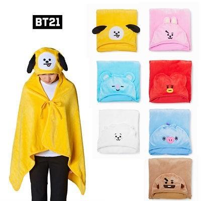 BT21 - Hoodie Blanket