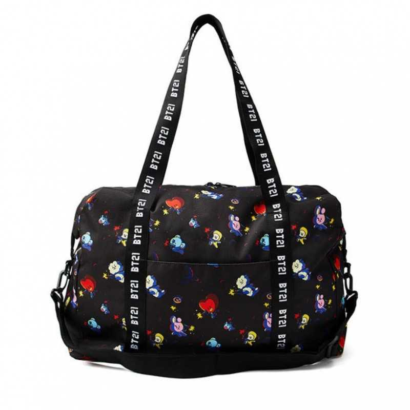 BT21 - Space Squad Patterned Duffel Bag