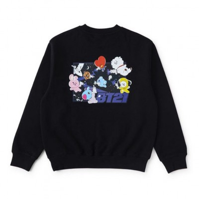 BT21 - Spacesquad Black Sweat Shirt