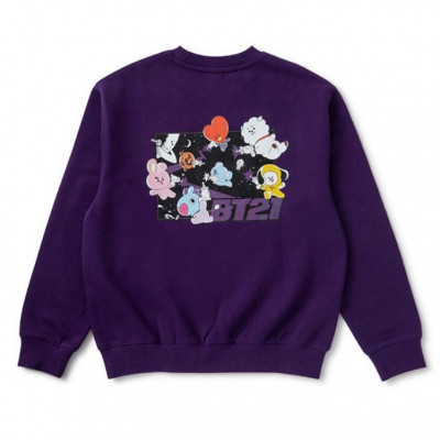 BT21 - Spacesquad Purple Sweat Shirt