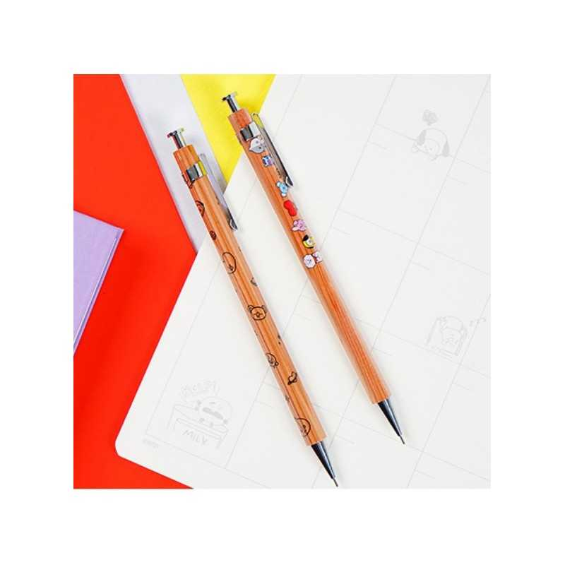 BT21 - Wood Sharp Pencil (Orange)