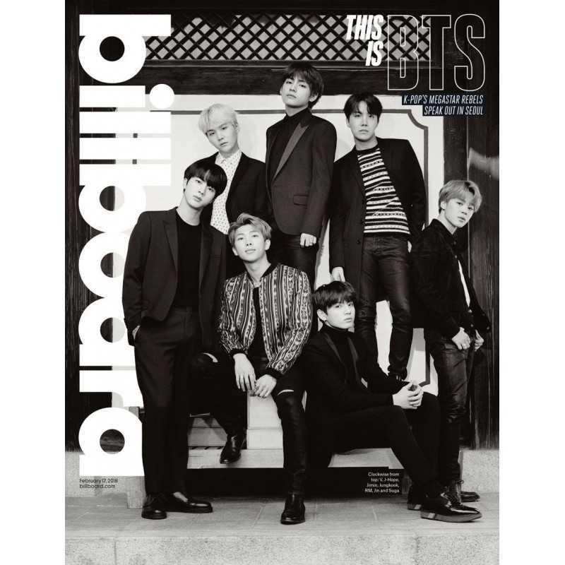 BTS - Billboard - BTS Group Cover