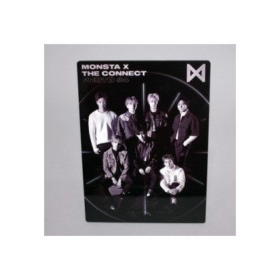 MONSTA X - Wood Frame Photo