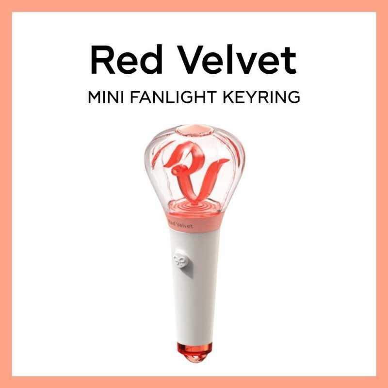 RED VELVET - Mini Fanlight Keyring